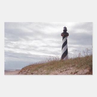 Cape Hatteras Lighthouse Rectangular Sticker