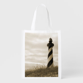 Cape Hatteras Lighthouse Reusable Grocery Bag