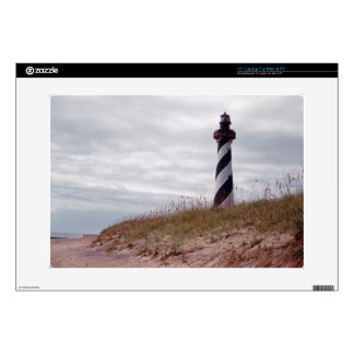 "Cape Hatteras Lighthouse Decal For 15"" Laptop"