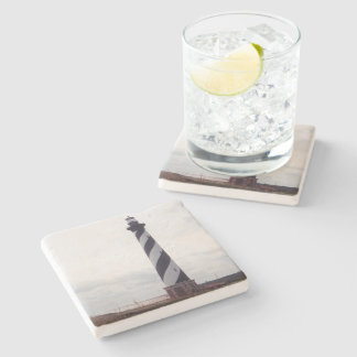 Cape Hatteras Lighthouse Stone Coaster