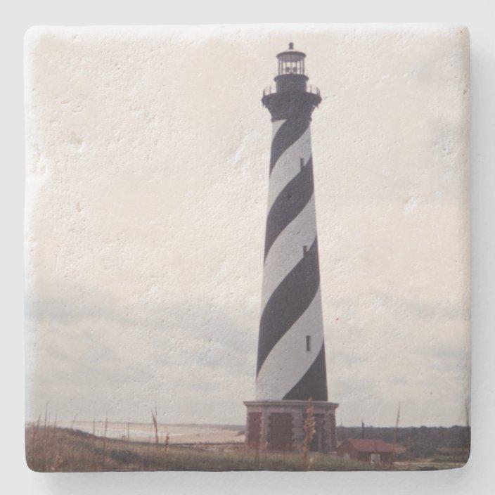 Cape Hatteras Lighthouse Stone Coaster Zazzle Com