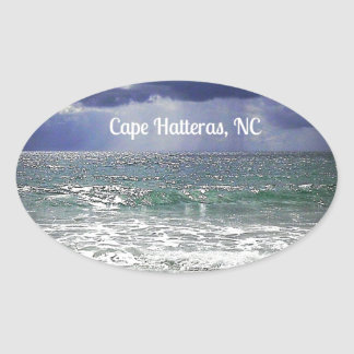 Cape Hatteras, NC Oval Sticker
