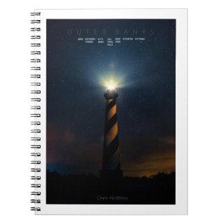 Cape Hatteras. Notebook
