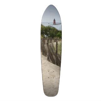 Cape Henlopen Light House Skateboard Deck