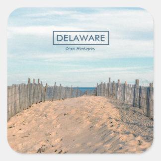 Cape Henlopen. Square Sticker