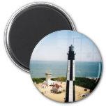 Cape Henry Lighthouse, VA 2 Inch Round Magnet
