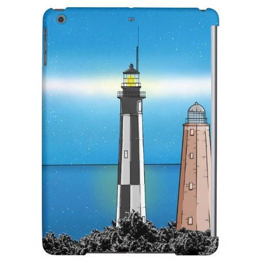 Cape Henry Lighthouse  Virginia  Chesapeake Bay Case For iPad Air