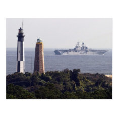 Cape Henry Lighthouses Postcard at Zazzle