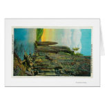 Cape Horn and Cigar Rock on Columbia River Greeting Card