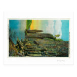 Cape Horn and Cigar Rock on Columbia River Postcard