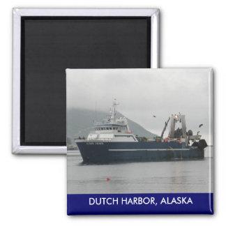 Cape Horn, Factory Trawler in Dutch Harbor, AK Magnet