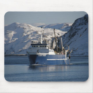 Cape Horn, Factory Trawler in Dutch Harbor, AK Mouse Pads