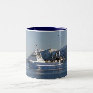 Cape Horn, Factory Trawler in Dutch Harbor, AK Coffee Mugs