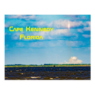 Cape Kennedy Florida Post Card