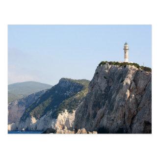 Cape Lefkas Lighthouse, Greece Postcard