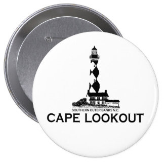 Cape Lookout. 4 Inch Round Button