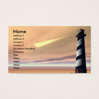 CAPE LOOKOUT BUSINESS CARD