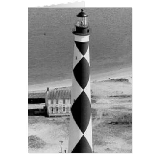 Cape Lookout Lighthouse Card