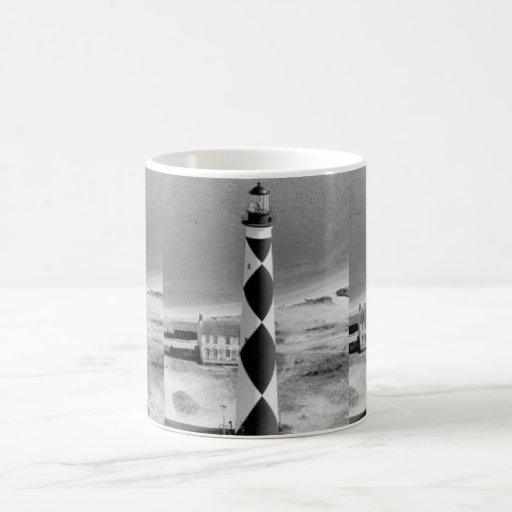 Cape Lookout Lighthouse Classic White Coffee Mug