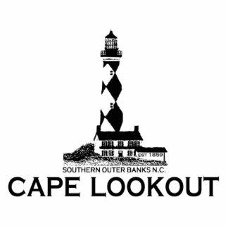 Cape Lookout. Photo Cut Outs