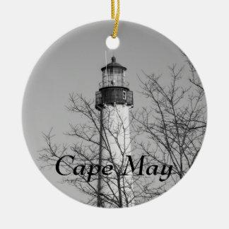 Cape May b w ligero Adorno