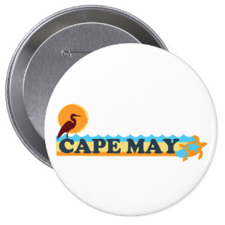 Cape May Pinback Button