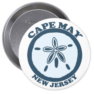 Cape May Pinback Buttons