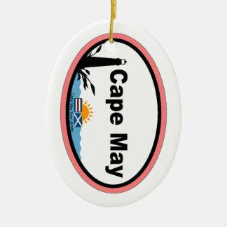 Cape May. Ceramic Ornament