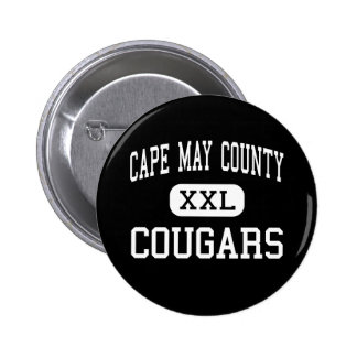 Cape May County - Cougars - Cape May Court House Pinback Button