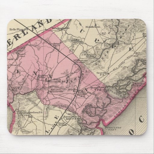 Cape May County, NJ Mouse Pads