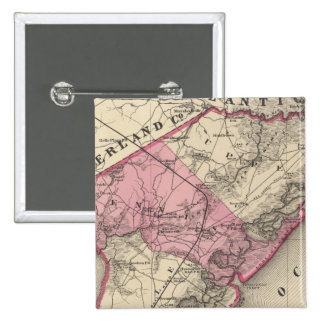 Cape May County, NJ Pinback Button