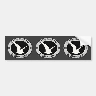 Cape May Ivory Gull Bumper Sticker