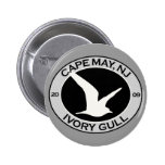 Cape May Ivory Gull Buttons