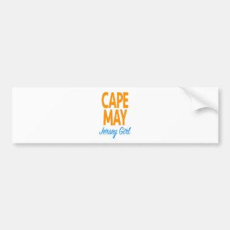 cape may jersey girl.jpg bumper sticker