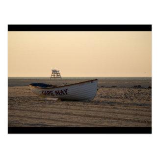 Cape May lifeboat Postcard
