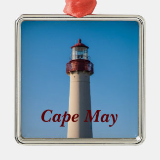 Cape May Light Metal Ornament