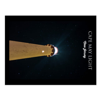 Cape May Light. Postcard