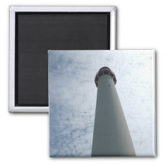 Cape May Lighthouse 2 Inch Square Magnet
