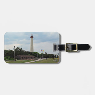 Cape May Lighthouse Bag Tag