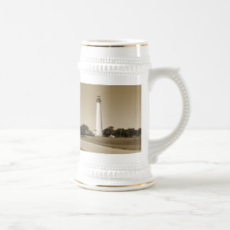 Cape May Lighthouse Beer Stein