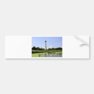Cape May Lighthouse Bumper Sticker