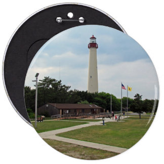 Cape May Lighthouse Buttons