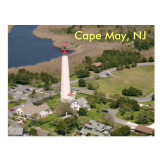 Cape May Lighthouse, Cape May, NJ Post Cards
