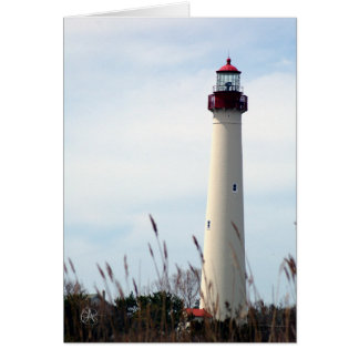Cape May Lighthouse Card