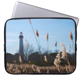 Cape May lighthouse Computer Sleeve