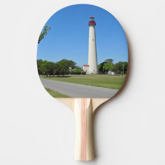 Cape May Lighthouse Ping Pong Paddle