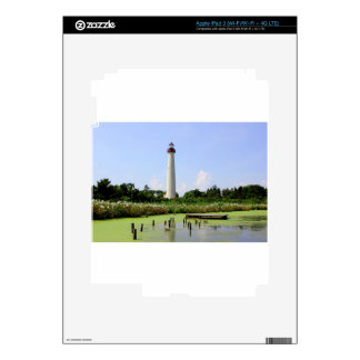 Cape May Lighthouse iPad 3 Decals