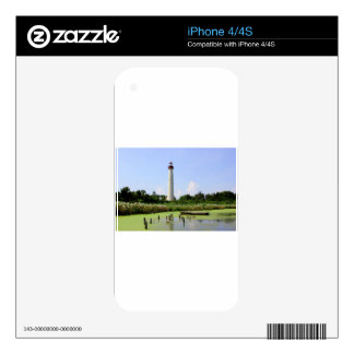 Cape May Lighthouse iPhone 4 Skins