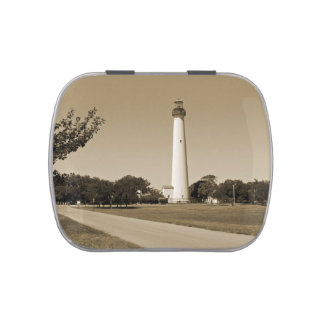 Cape May Lighthouse Jelly Belly Candy Tin