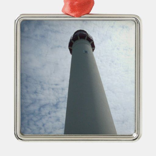 Cape May, Lighthouse Metal Ornament